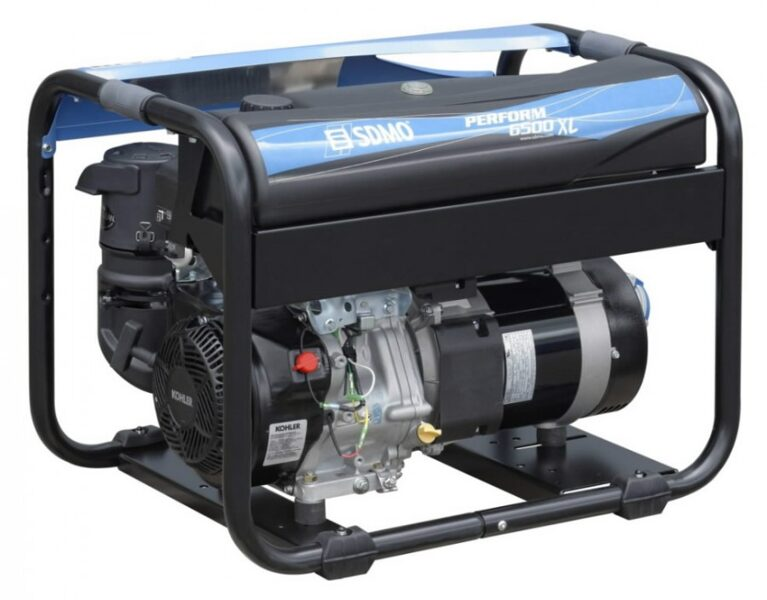 Ģenerators KOHLER-SDMO PERFORM 6500 XL, 6.5kW