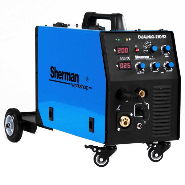 Sherman DUALMIG 210 S3 metināšanas iekārta aparāts (pusautomāts)