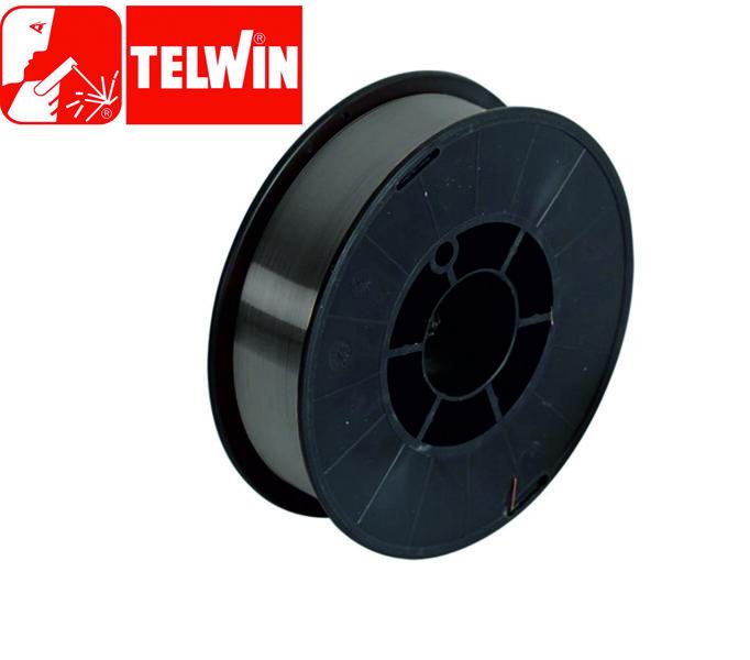 Telwin neleģētā tērauda metināšanas pulverstieple 0.8 mm 3 kg
