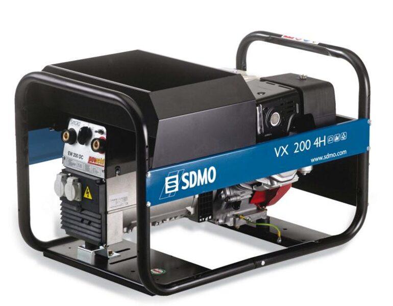 Ģenerators metināšanas KOHLER-SDMO VX 200/4H S