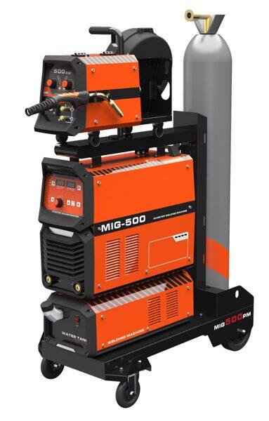 Welldo MIG - 500Y IGBT metināšanas iekārta