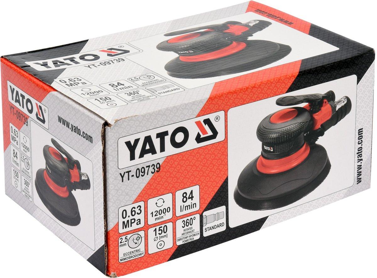 Pneimatiskā slīpmašīna 150mm YATO YT-09739