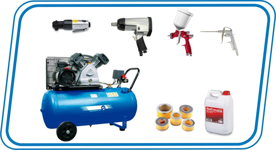 Compressors equipments spare parts