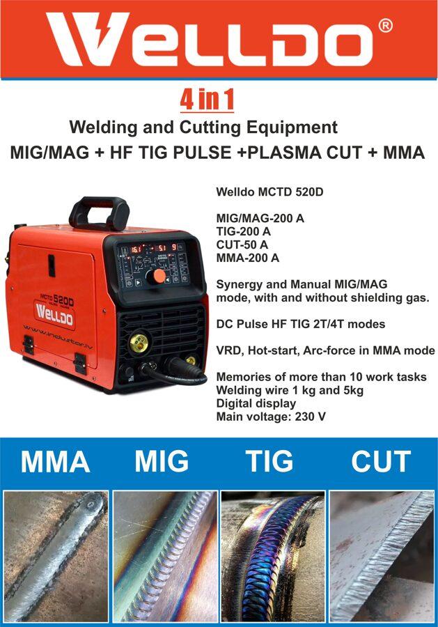 welldo-mctd-520d aparat