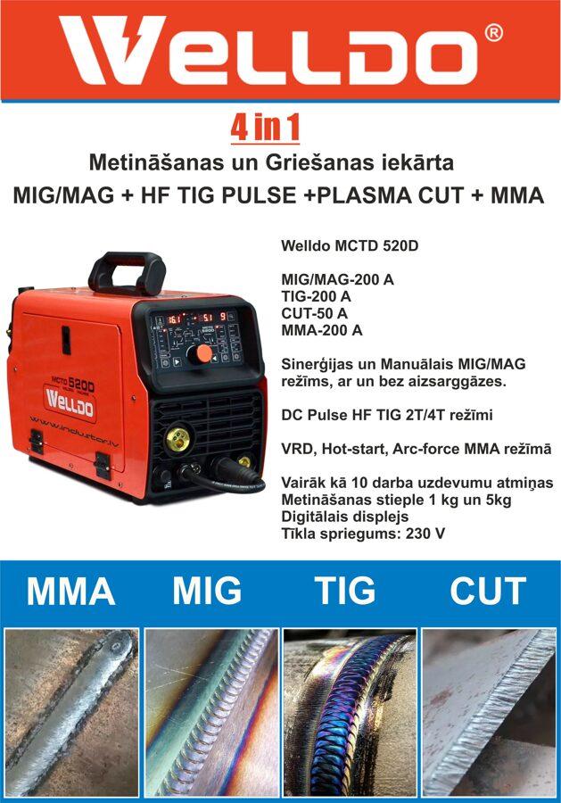 Welldo-mctd-520D