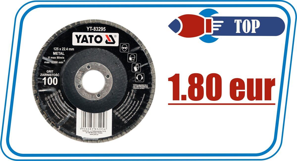 Лепестковые диски YATO