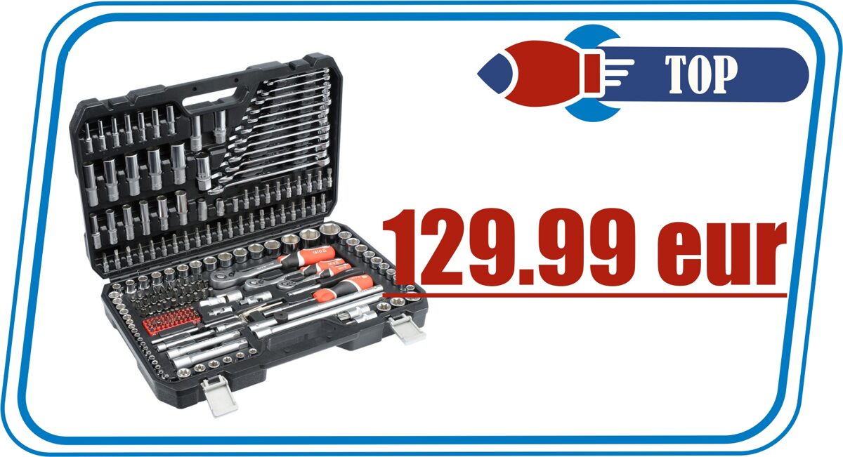 yato tool kit 216 pcs