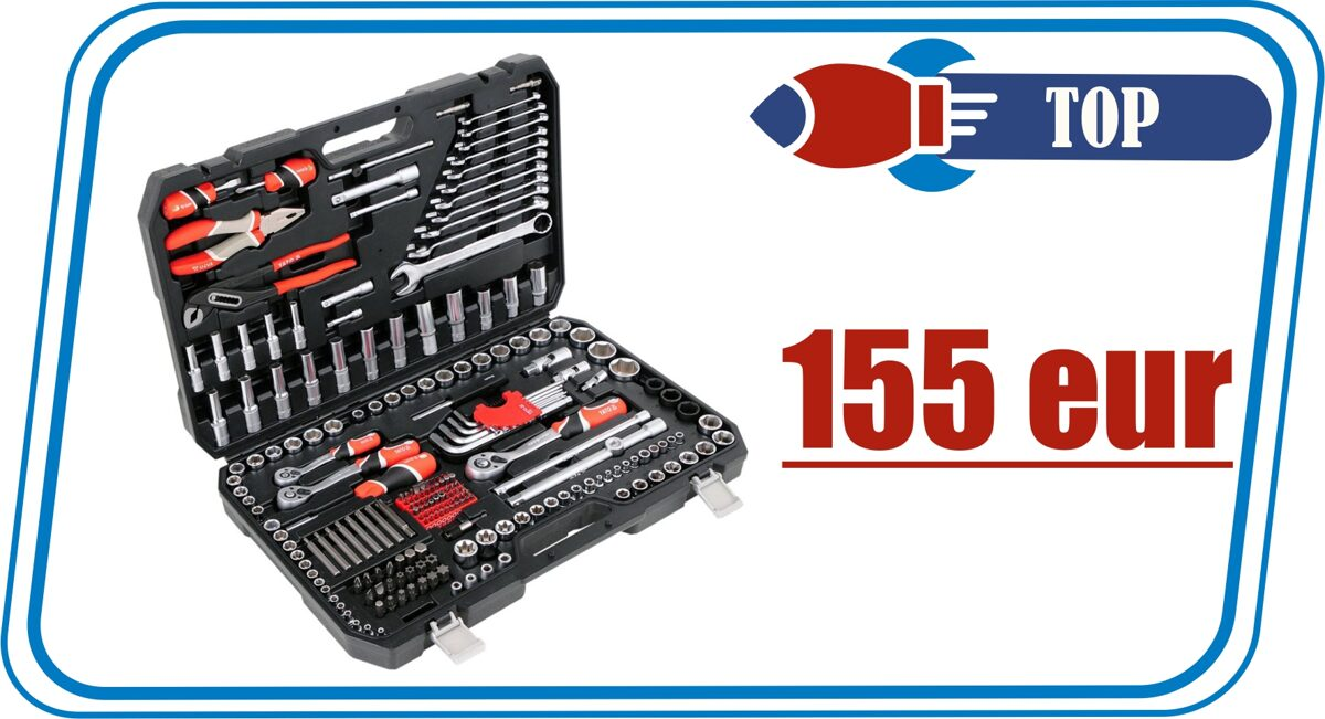 yato tool set 225 pcs